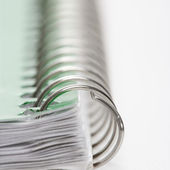 Spiral bound notebook. — Stock Photo