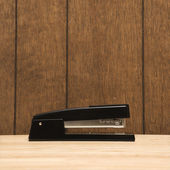 Black stapler. — Stock Photo