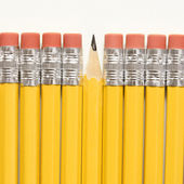 Row of pencils. — Stock Photo