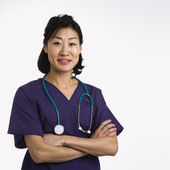 Woman doctor. — Stock Photo