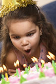 Birthday girl. — Foto Stock