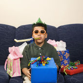 Boy birthday. — Stock Photo