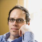 Man in glasses. — Stock Photo