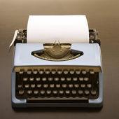 Gamla gammaldags skrivmaskin. — Stockfoto