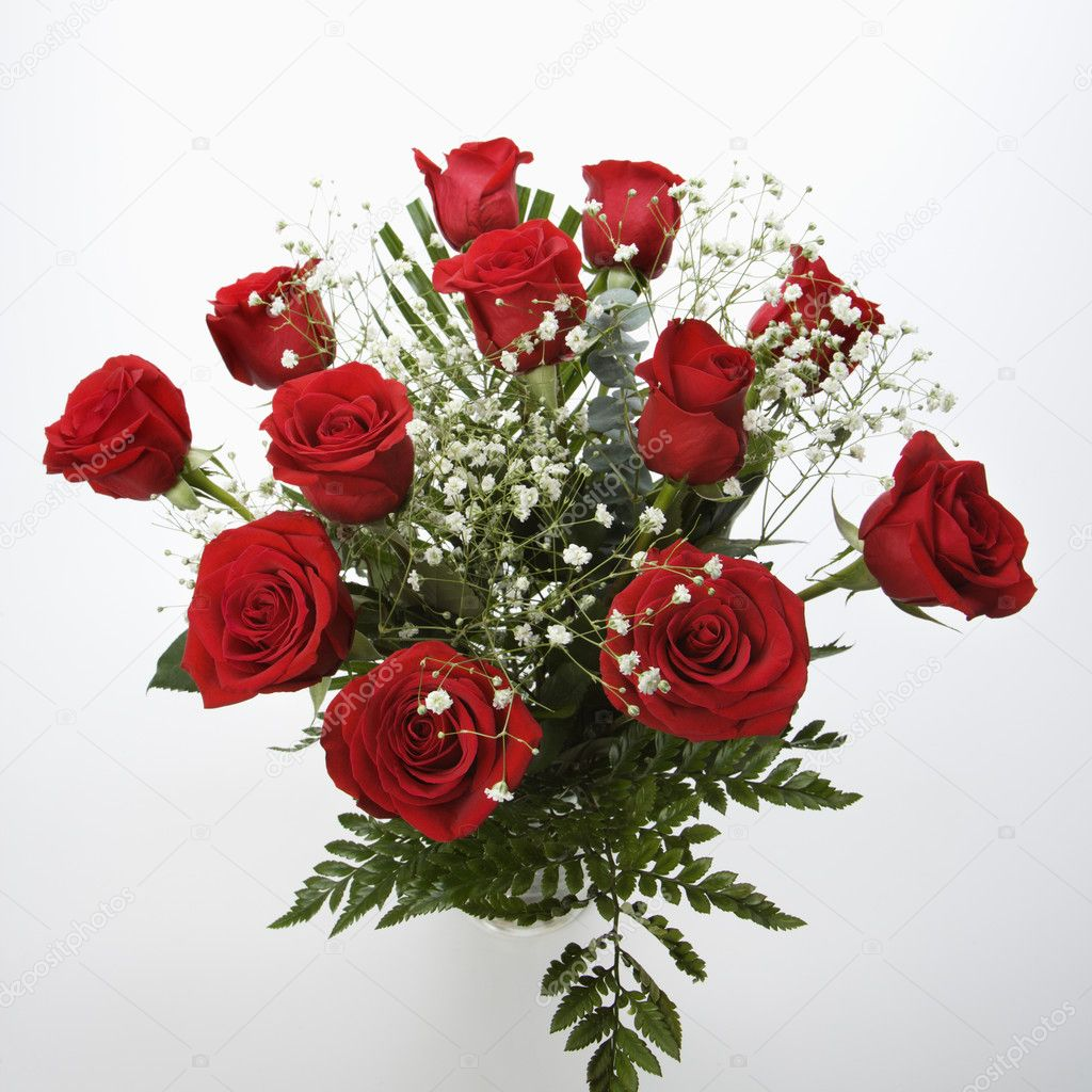 Bouquet of red roses stock photo iofoto 9554017 for Envoyer des roses