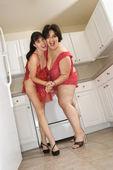 Women in lingerie. — Stock Photo