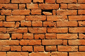 Old country house brick wall — 图库照片