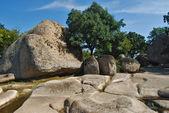 Ancient stone sanctuary — Stock Photo