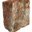 Old broken used brick — Stock Photo