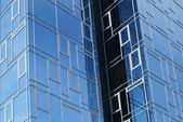 Office building wall close-up — Stock Photo