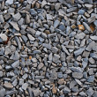 Stock Photo: Railroad track ballast close-up