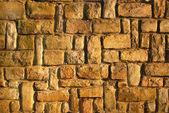 Pískovec zeď — Stock fotografie