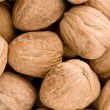 Stock Photo: Walnuts closeup