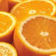 Abstract background with citrus-fruit of orange slices — Stock Photo