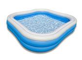Pool isolated on white — Stock Photo