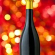 Champagne bottle with nice blur — Foto Stock