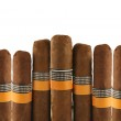 Cigars on white — Stock Photo #8549896