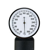 Close up view of a sphygmomanometer — Stock Photo
