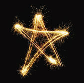 New year star — Stock Photo