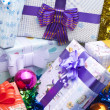 Gift boxes background — Stock Photo #8550150