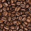 Coffee beans closeup background — Stock Photo
