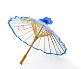 Orientaliska paraply isolerade — Stockfoto