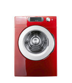 Washing machine isolated — Stock Photo