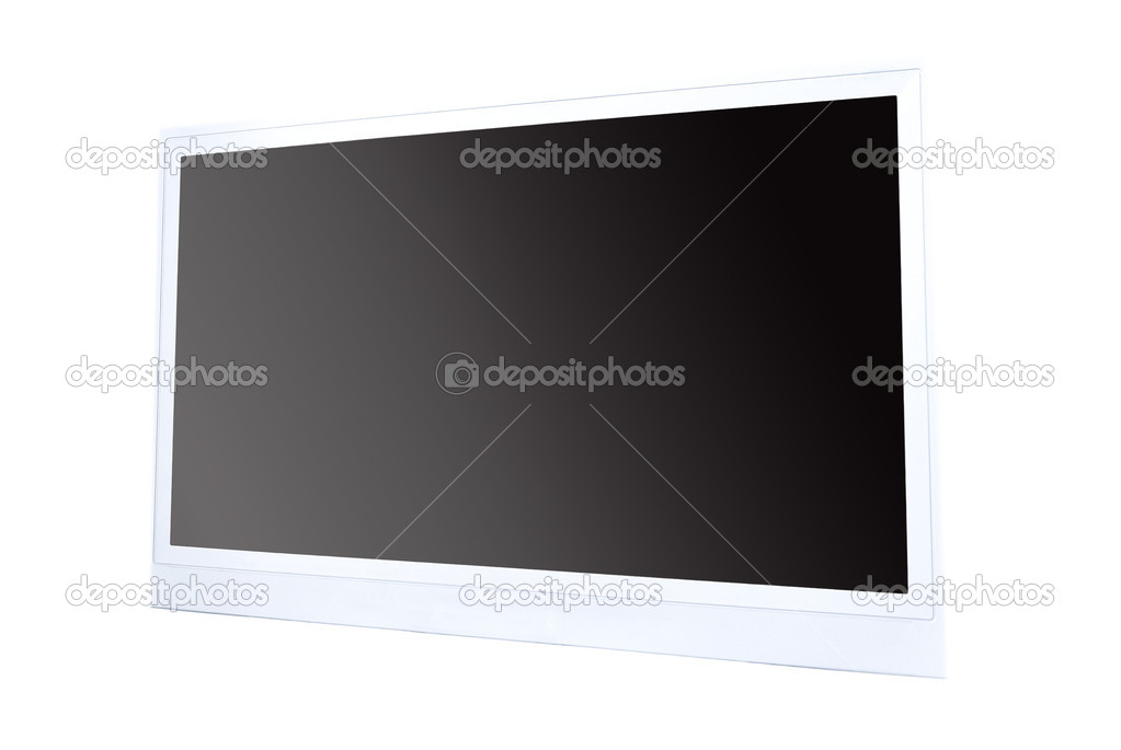 TV flat screen lcd, plasma — Stock Photo #8643679