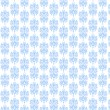 White & Light Blue Damask Paper — ストック写真 #10038297