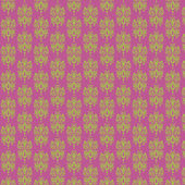 Light Purple & Lime Damask Paper — Stock Photo