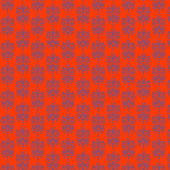 Orange & Purple Damask Paper — Stock Photo
