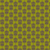 Olive Green & Purple Damask Paper — Stock Photo