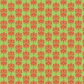 Perzik munt damast papier — Stockfoto