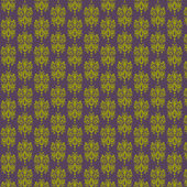 Purple & Lime Damask Paper — Stock Photo