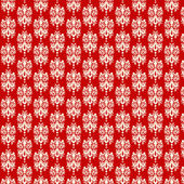 Red & White Damask Paper — Stock Photo