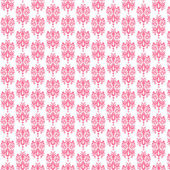 White & Light Pink Damask Paper — Stock Photo