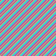 Blue Pink & Lime Diagonal Stripe Paper — Stockfoto #10041140