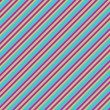 Blue Pink & Lime Diagonal Stripe Paper — 图库照片 #10041140