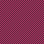 热粉红色 & 黑色对角条纹纸 — 图库照片