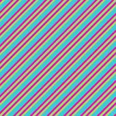 Blue Pink & Lime Diagonal Stripe Paper — Stock Photo