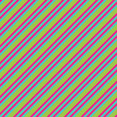 Pink Lime & Blue Diagonal Stripe Paper — Foto de Stock