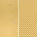 Spring Fever Plaid Paper Set — Stock Photo