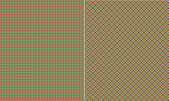Lime Blue & Black Plaid Paper Set — Stock Photo