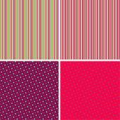 Polka Dots & Stripes Pack — Stock Photo