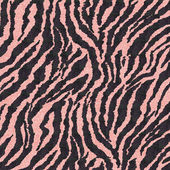Pink Glitter Zebra — Stock Photo