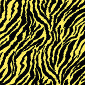 Yellow Glitter Zebra — Foto de Stock