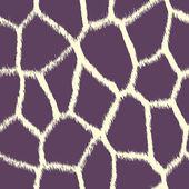 Purple Giraffe Print — Stock Photo