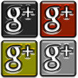 Stock Photo: Google Plus Icons Pack 3