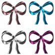 Stock Photo: Silk Bows Set 2