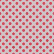 Gray & Raspberry Polkadot Paper — Stock Photo